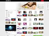 数码产品或摄影展示类网站